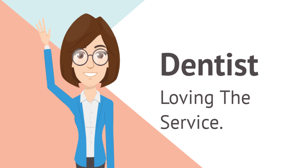 Dentist Testimonial for Health Practice Digital